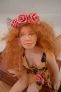 fairy temptress doll close up