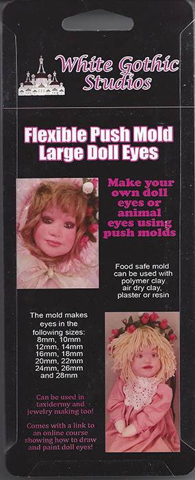 large doll eye mold
