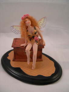fairy temptress push mold doll