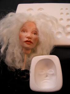 doll eye practice mold
