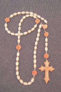 Glass and Polymer Clay Rosary