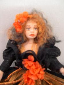 fairy maiden as wreath doll