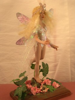 dollhouse fairy mom with cicada wings