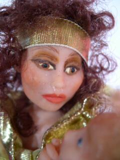 gypsy doll close up