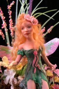 fairy gwen in green dress