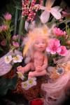 Baby Fairy in Garden Patch