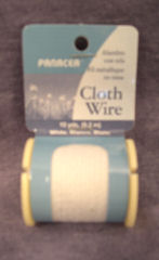 Cloth covered armature wire