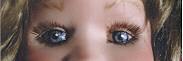 inserted handmade doll eyes