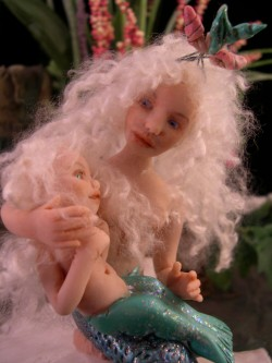 mermaid and merbaby