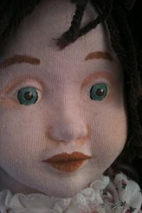 Baby Izzy closeup