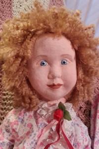 Baby Isabella close up